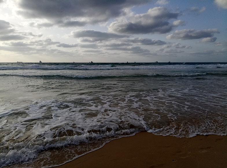 Пляж Лидо в Ашдоде
