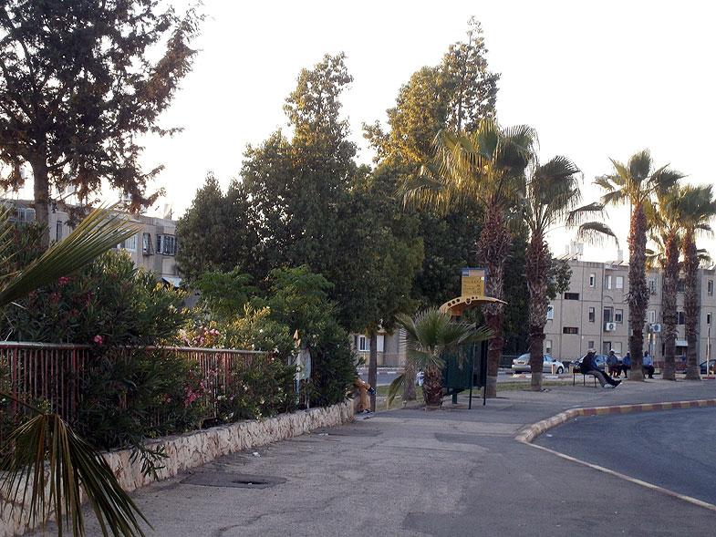 Бейт-Шемеш. Улица ха-Наркис