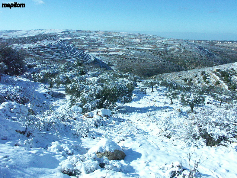Вифлеем под снегом