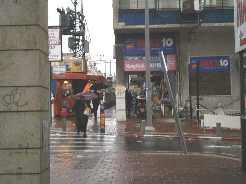 Дождливый день в Бней-Браке