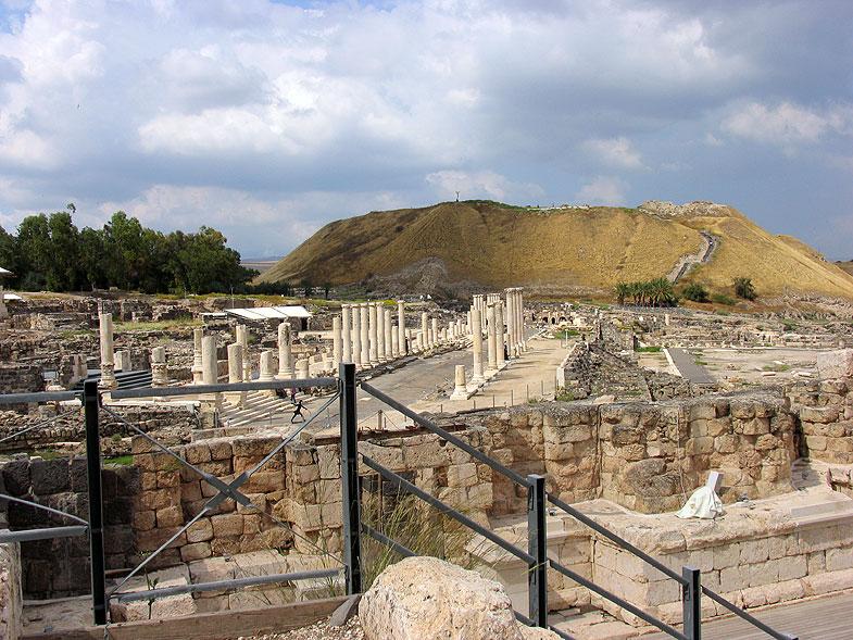 Скифополис рядом с Бейт-Шеаном