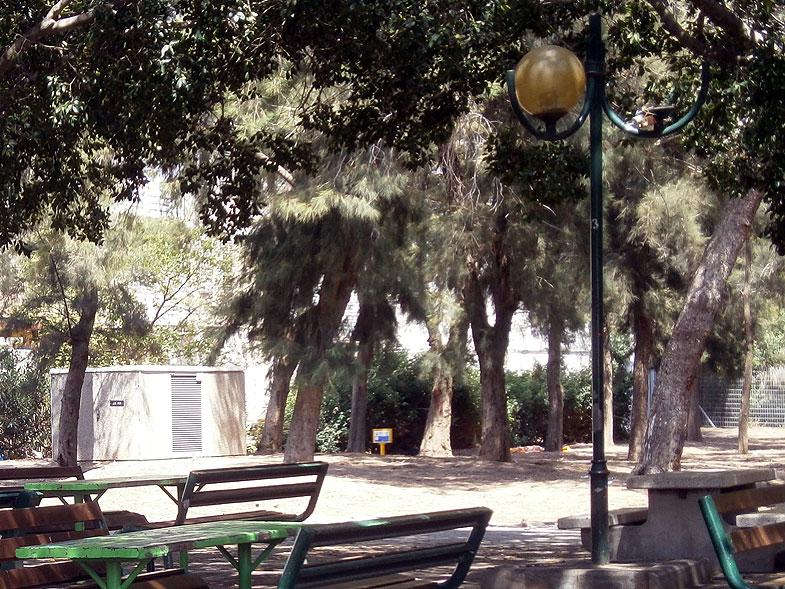 Kiryat Bialik. Eli Cohen garden