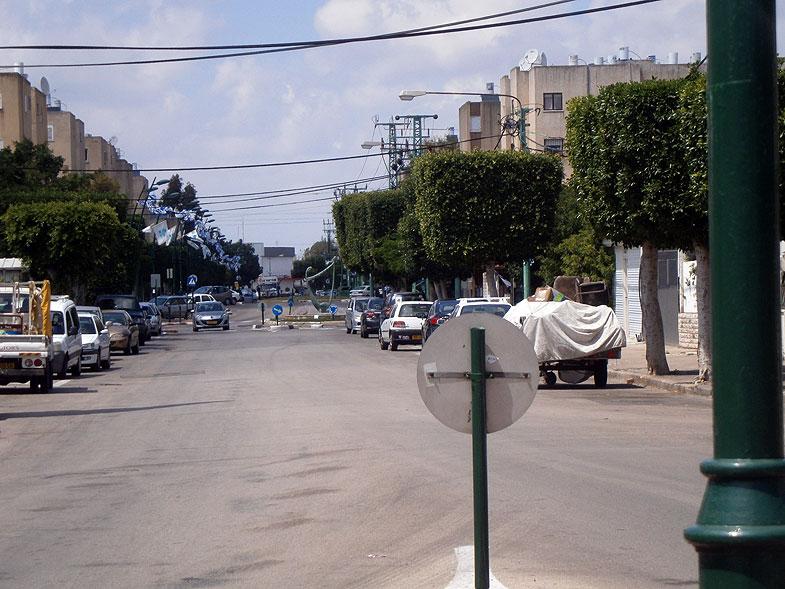 Кирьят-Бялик. Улица Гиора