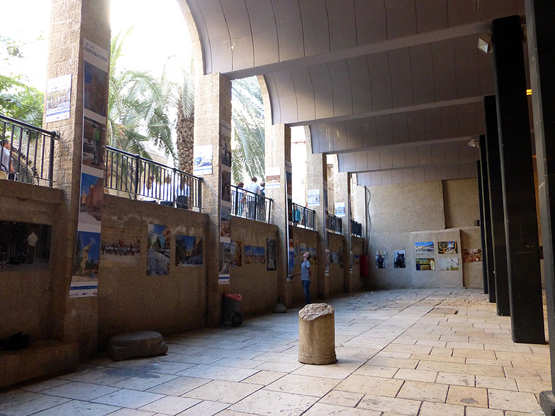 Римская улица Кардо в Иерусалиме