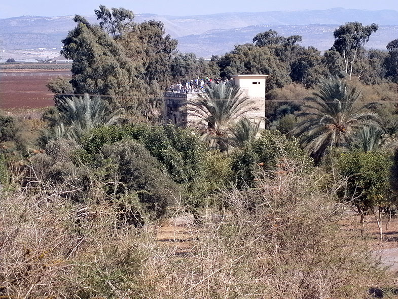 Мельница крестоносцев в заповеднике Эйн-Афек