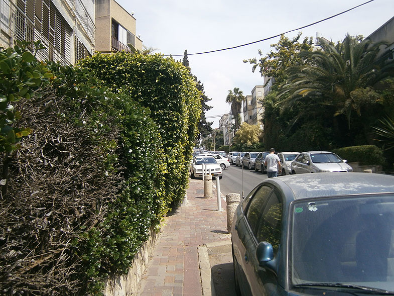 Givatayim. Geva street