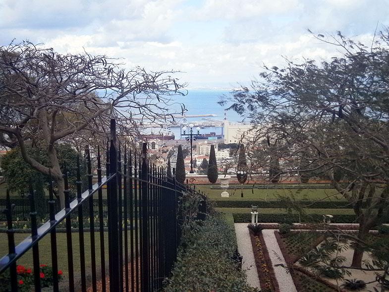 Haifa. The Bahai Gardens