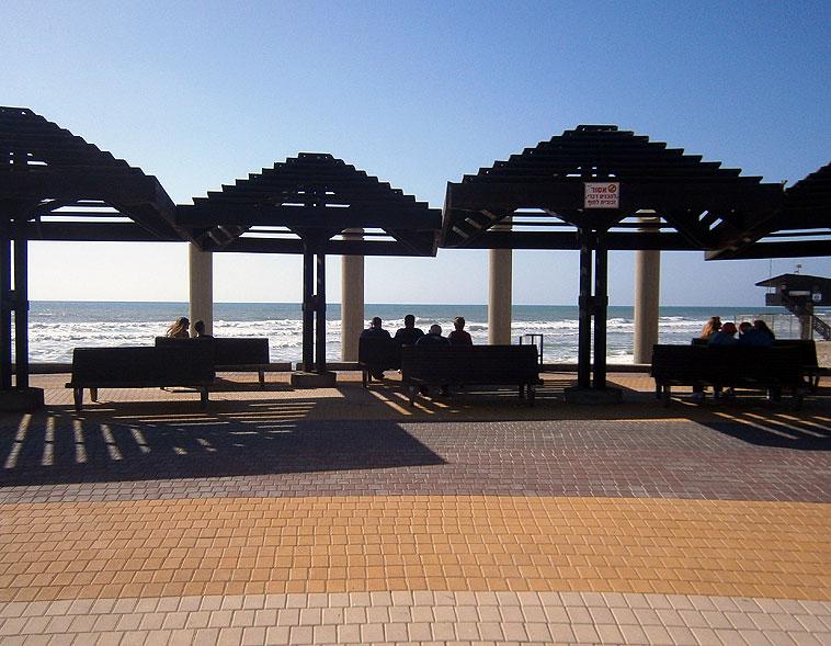 Хайфа. Пляж Дадо