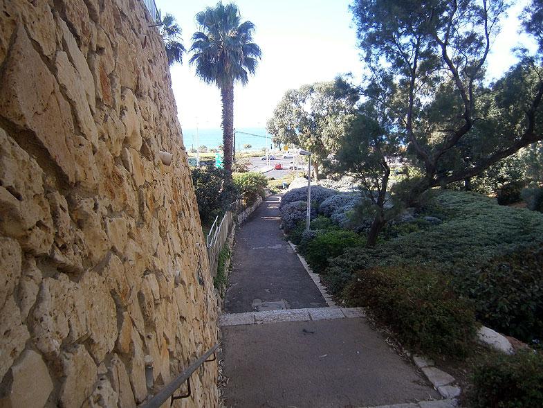 Haifa. Eli Cohen garden