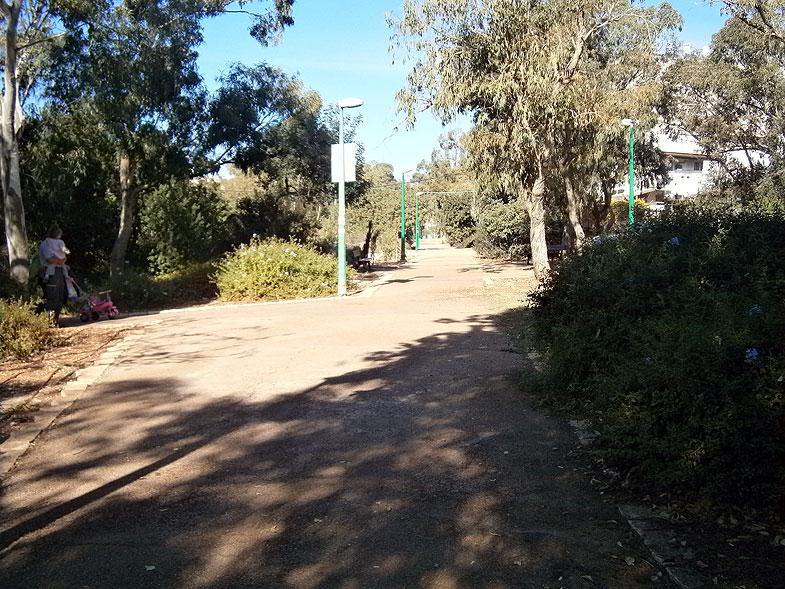 Хайфа. Парк имени Эли Коэна