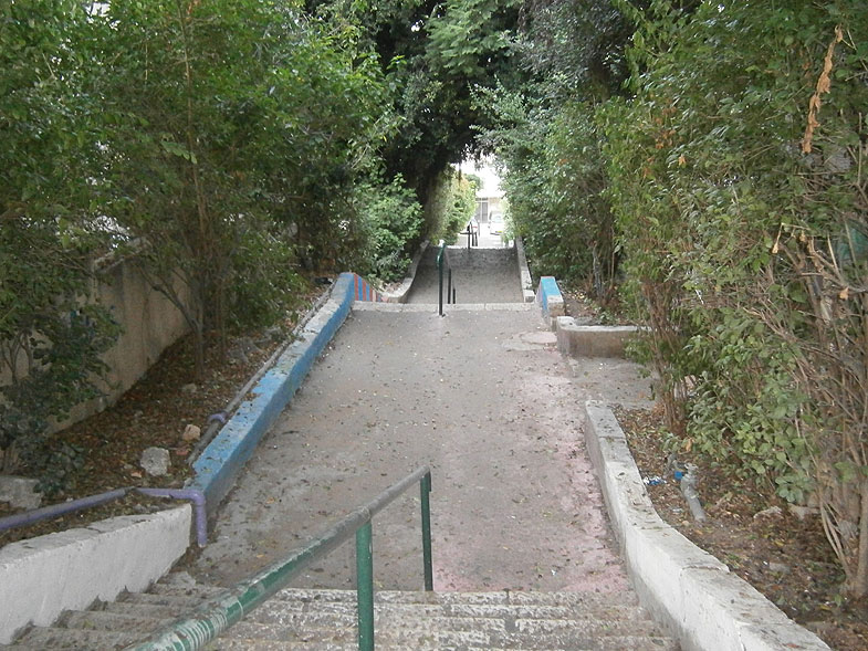Хайфа. Улица Масада