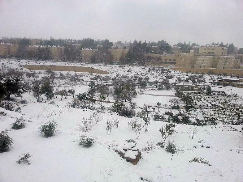 Snowy Hebron