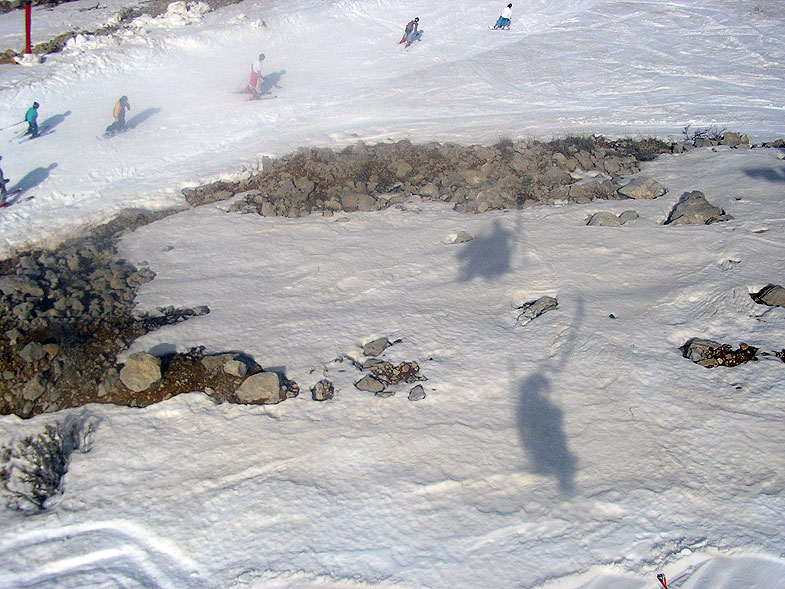 Горнолыжный курорт на Хермоне