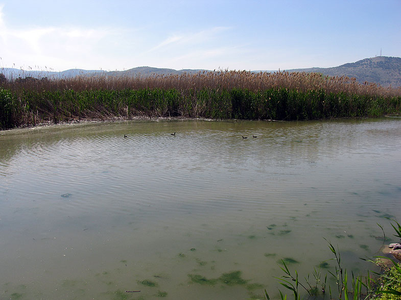 Озеро Хула