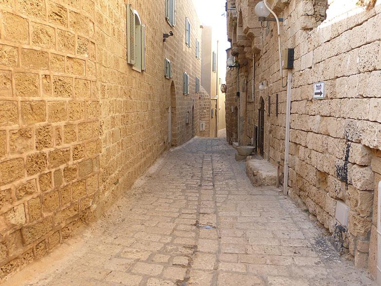 Jaffa Alleys