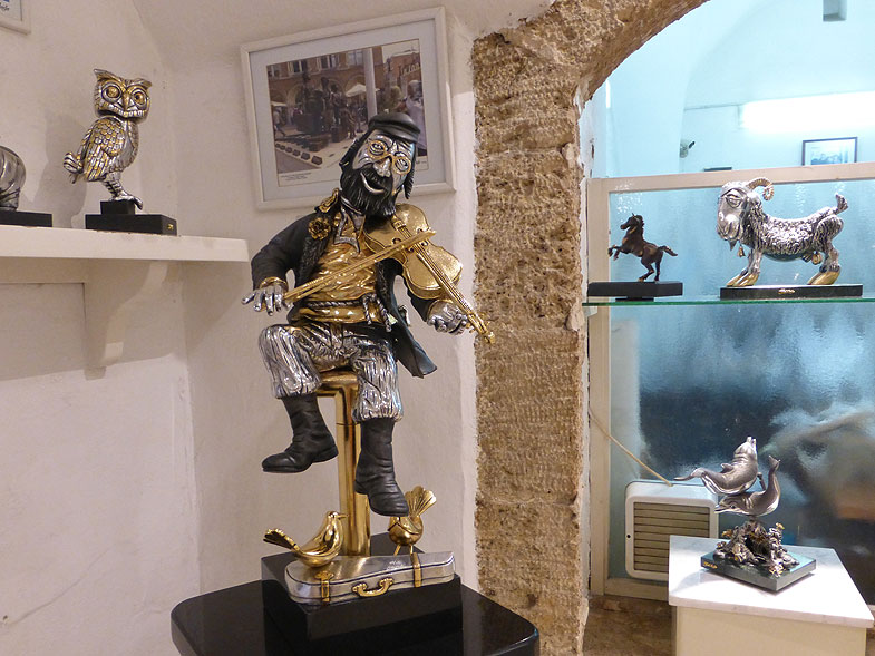 Frank Meisler Gallery in Jaffa