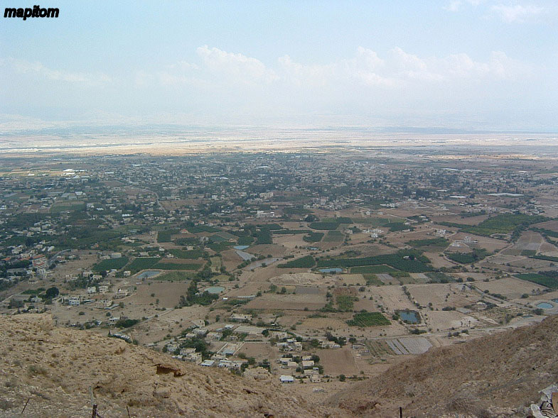 The view of Jericho