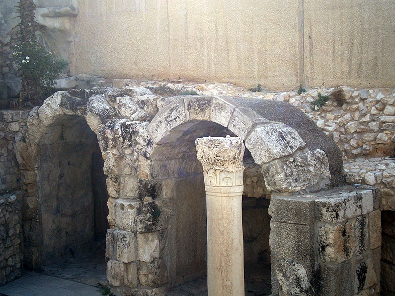 Jerusalem. Cardo