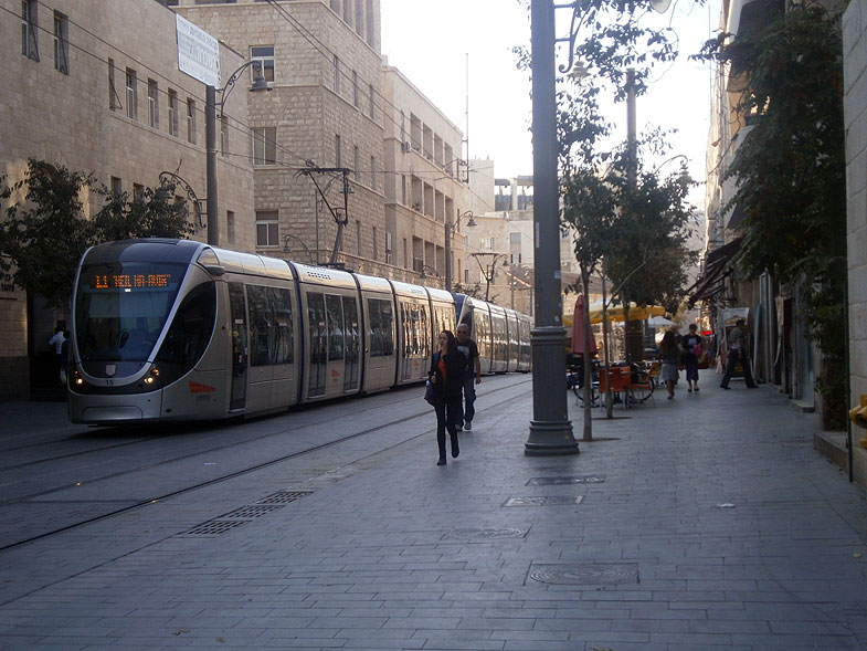 Jerusalem. Jaffa Road