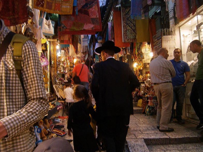 Old City Market in Jerusalem