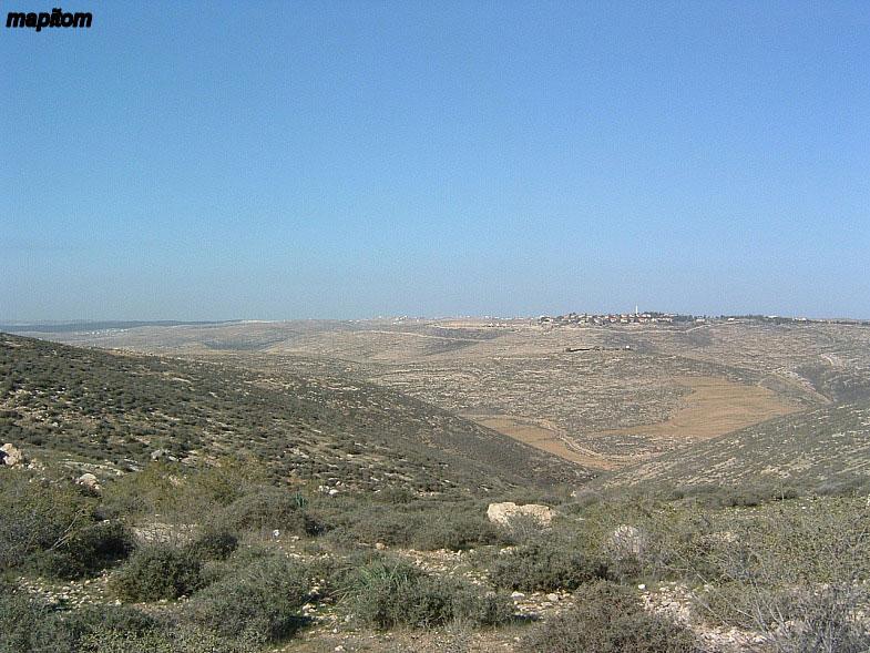 Judea. Mount Hebron