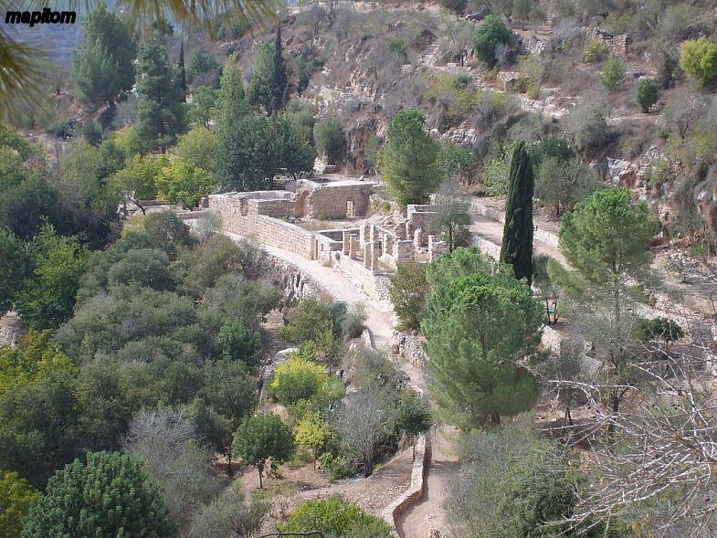 Judea. Jerusalem Mountain