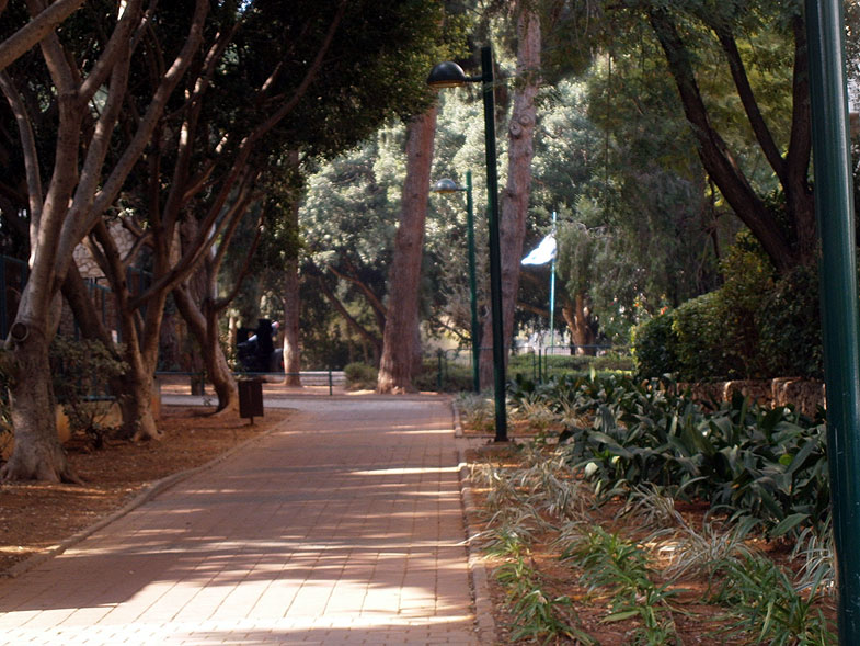 Kfar Saba. Memorial Garden