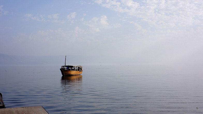 Рыбаки на Кинерете