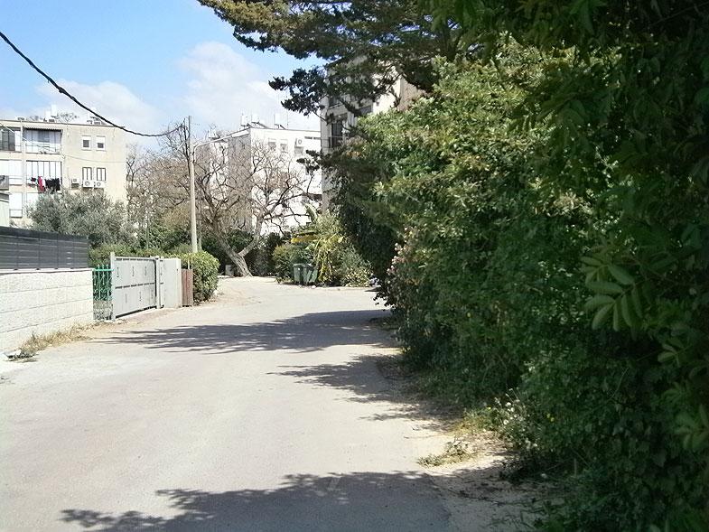 Кирьят-Ата. Улица Голомб