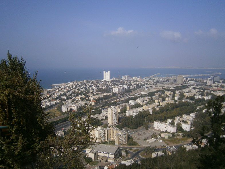 Haifa. The view of the Kiryat Eliezer