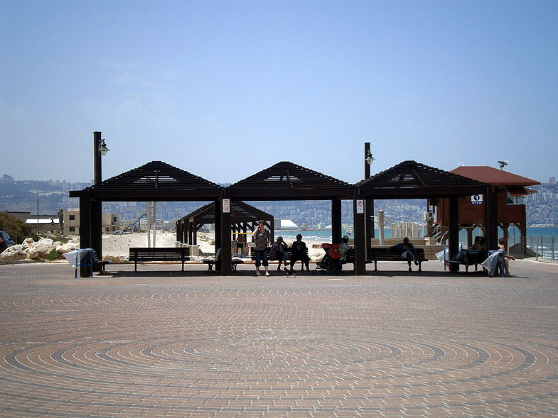 Kiryat Haim. The Beach