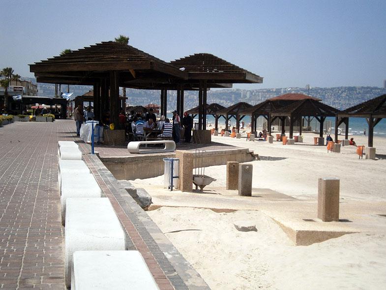 Кирьят-Хаим. Пляж