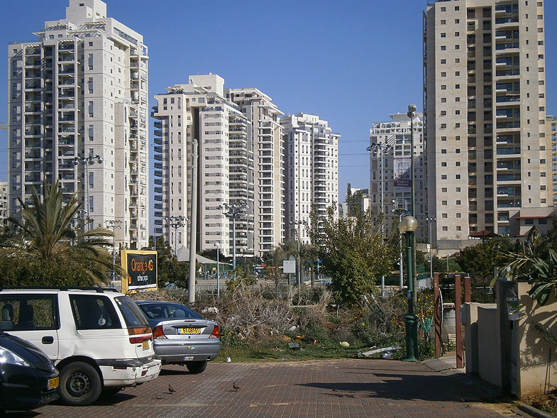 The new district of Kiryat Ono