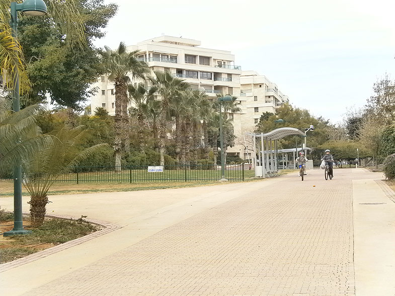 Кирьят-Оно. Парк Рэйсфельд