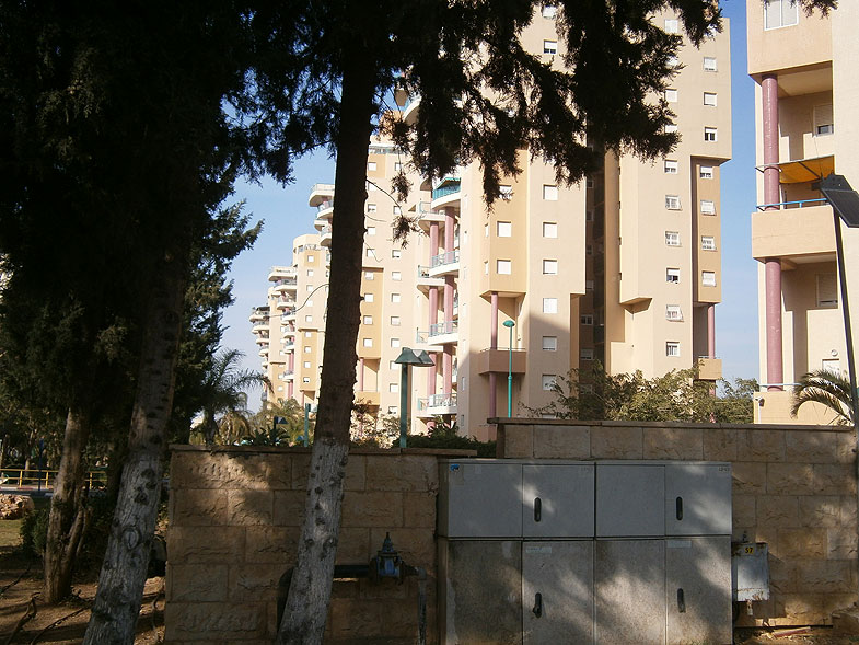 Kiryat Yam. Park in Lilah street