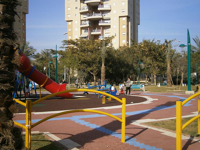 Кирьят-Ям. Парк на Сдерот Цахал
