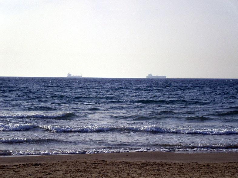 Кирьят-Ям. Пляж