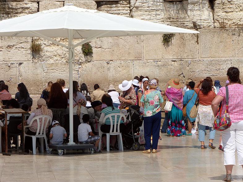 Иерусалим. У Стены Плача
