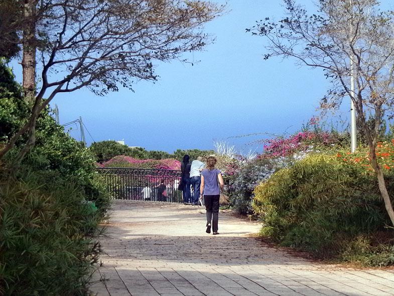 Haifa. Louis Promenade
