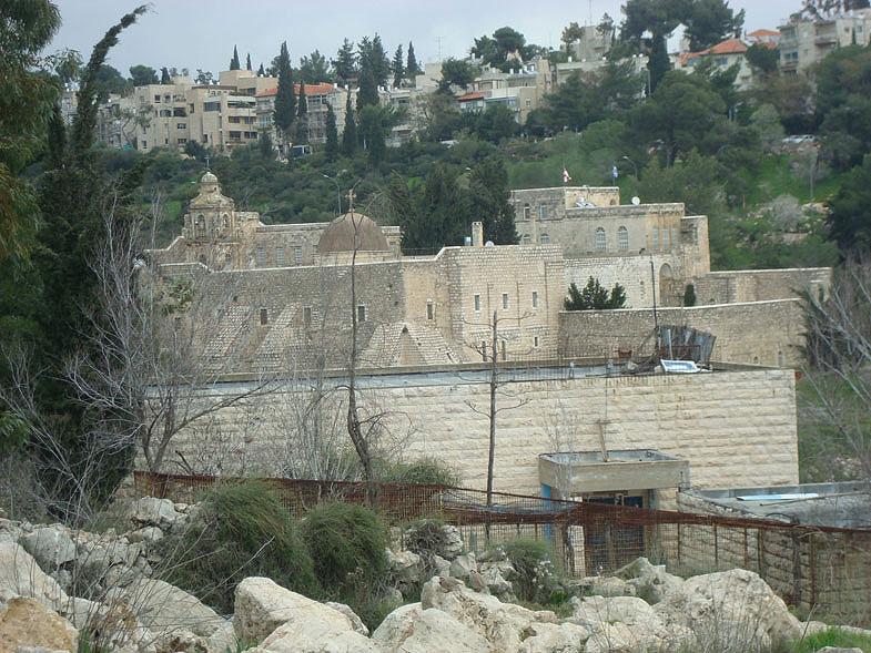 Иерусалим. Монастырь Святого Креста