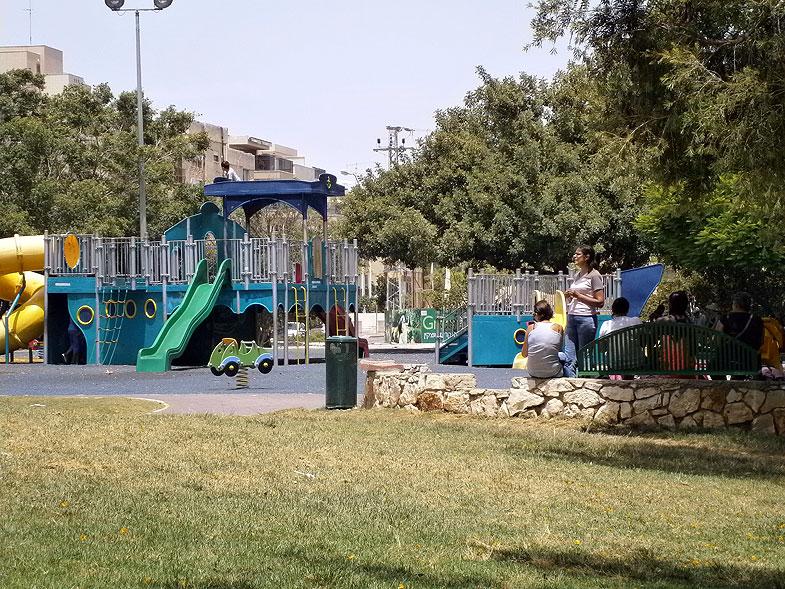 Kiryat Motzkin. HaMeyasdim Park