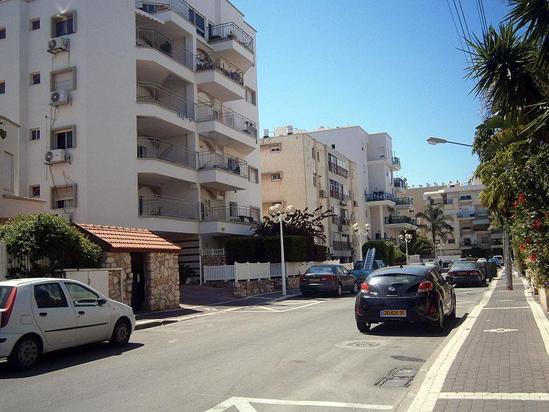 Nahariya. Agnon street