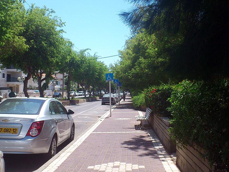 Нагария. Улица Бальфур