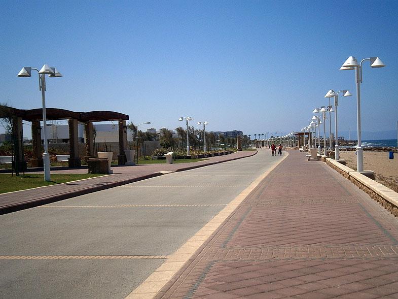 Приморский променад в Нагарии