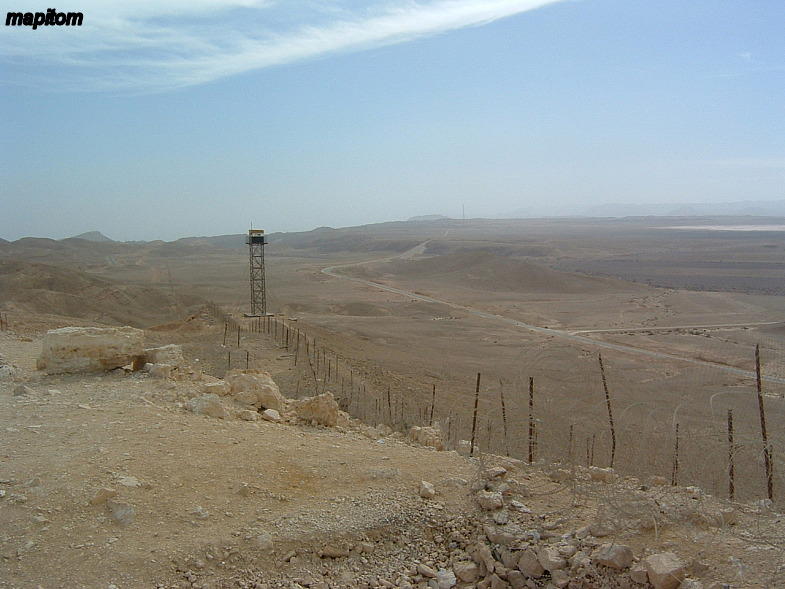 Negev. Border with Egypt