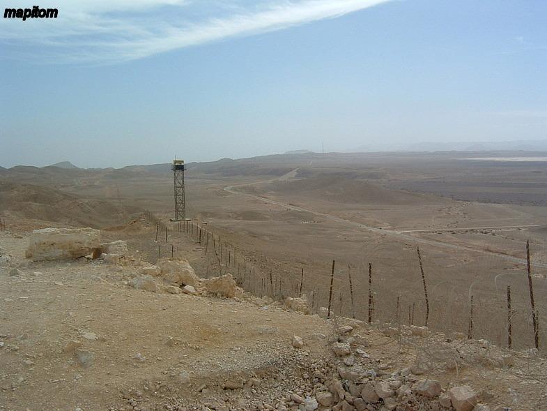 Негев. Египетская граница