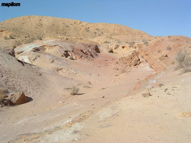 Негев и Арава. Цветные пески