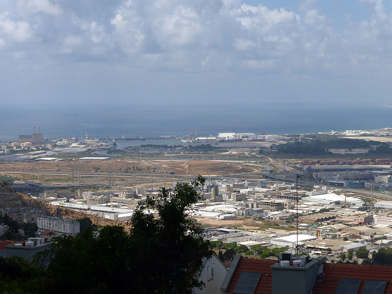 The View of Haifa Bay from Nesher