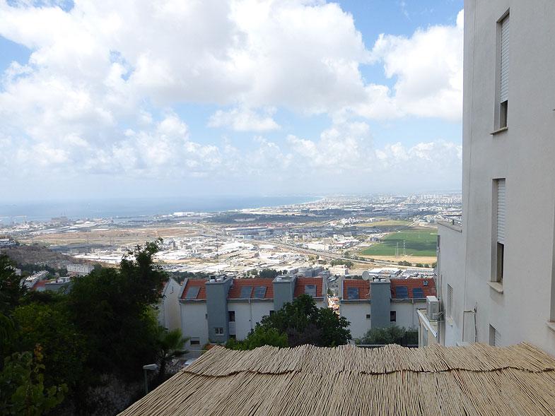 Вид на Хайфский залив из Нешера