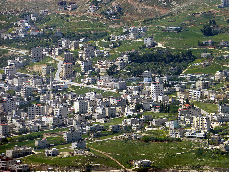 The View from the Elon Moreh Settlement